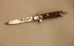 Нож флинт-2,ручка из дерева.